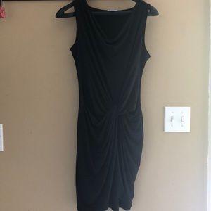 NY&CO sleeveless knotted dress